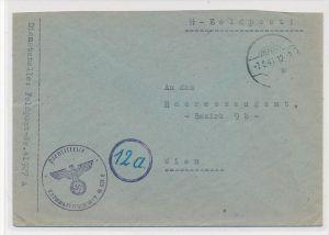 D.-Reich   Feldpost  der SS   (zz6293  ) siehe scan  !