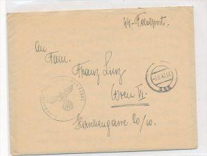 D.-Reich   Feldpost  der SS   (zz6292  ) siehe scan  !