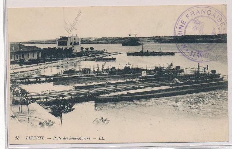 Frankreich Feldpost Karte -Mariene    (bc4688   ) siehe scan !