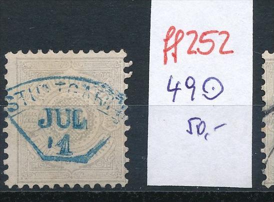Würtemberg   Nr.  49     o    (ff252 ) siehe scan !