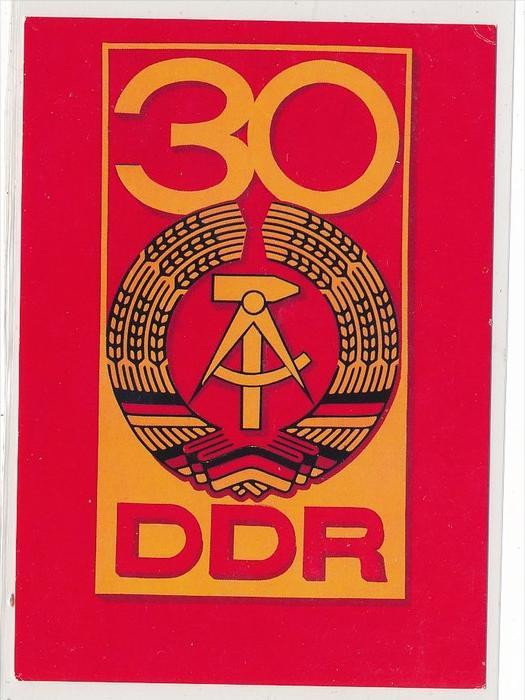 DDR Propaganda Karte    ungebraucht nicht häufig  ( bc4968 ) siehe Bild !