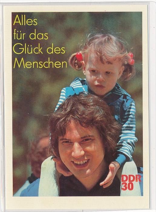 DDR Propaganda Karte    ungebraucht nicht häufig  ( bc4966 ) siehe Bild !