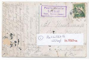 Bayern-Karte Posthilfsstelle-  Löhhof  (bc5263 ) siehe scan  !