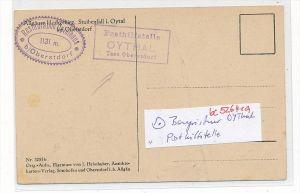 Bayern-Karte Posthilfsstelle-  OYTHAL   (bc5264 ) siehe scan  !