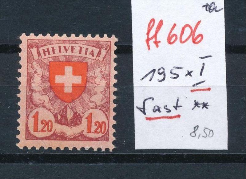 Schweiz Nr. 195 x I  ** (ff606  ) siehe scan vergrößert !