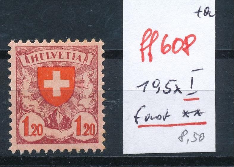Schweiz Nr. 195 x I  ** (ff608  ) siehe scan vergrößert !