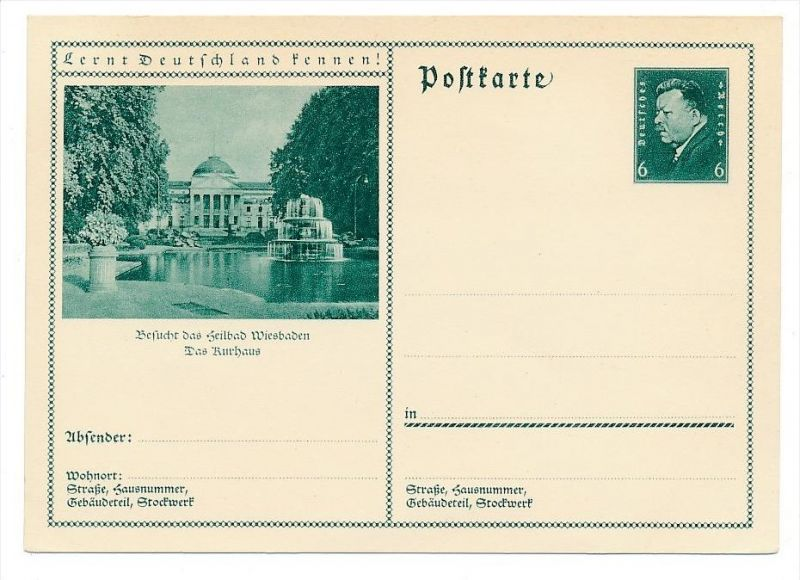 D.-Reich    Ganzsache   ( bc5471  ) siehe scan !