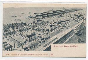 Lager Lechfeld  - alte Karte - (da4231 ) siehe scan !