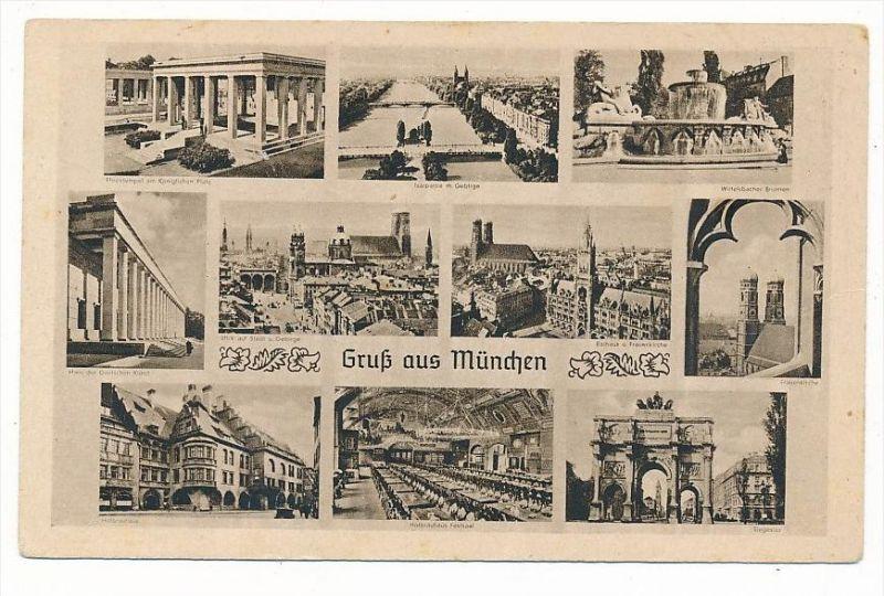 München-alte Karte   ungebraucht(bc 5616 ) siehe scan !