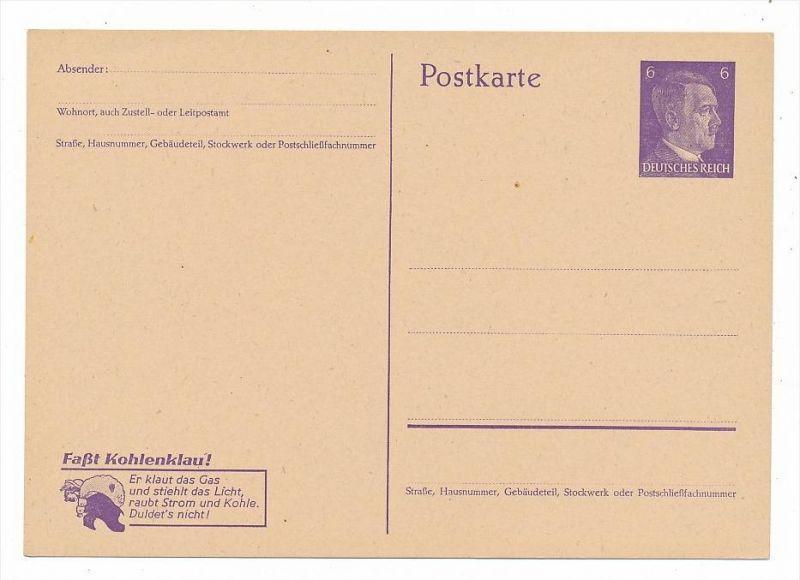 D.-Reich Ganzsache        (bc5634  ) siehe scan !