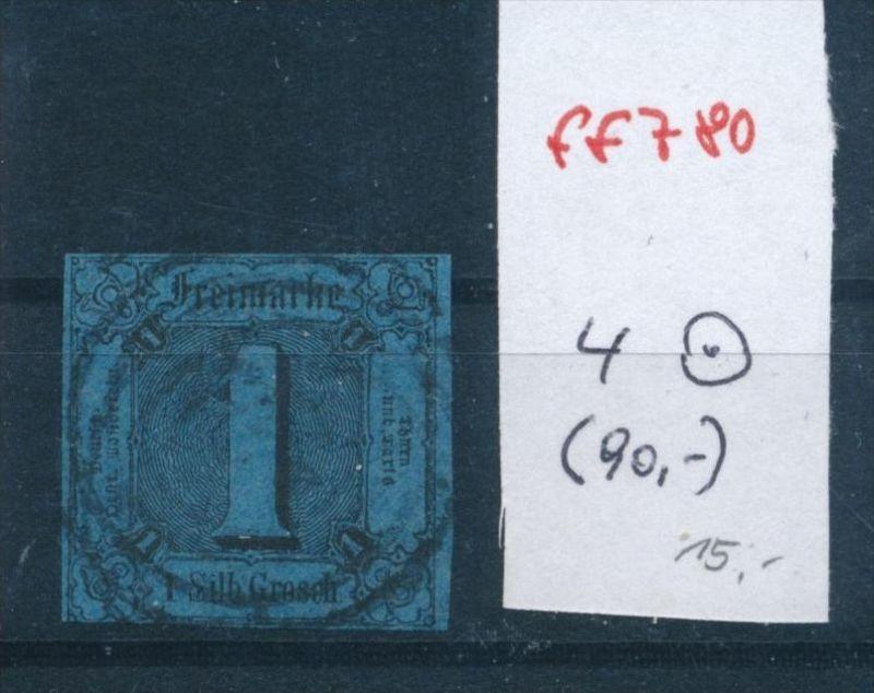 Thurn +Taxis Nr.  4 o    (ff  780  ) siehe scan !