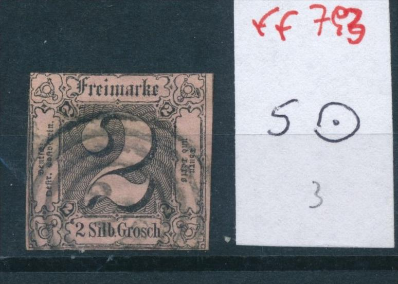 Thurn +Taxis Nr.  5  o    (ff  793  ) siehe scan !