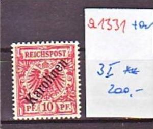 Karolinen  Nr. 3 I  **   (a1331 ) siehe scan