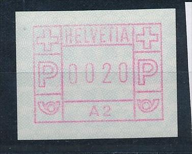 Schweiz  Nr.   1 A 2   **      (e9866    ) siehe scan  !
