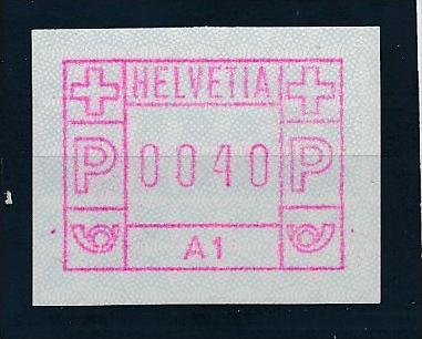 Schweiz  Nr.   1 A 1   **      (e9869    ) siehe scan  !