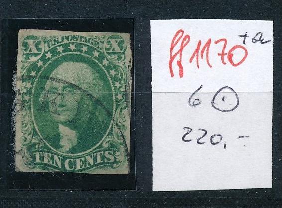 USA  Nr.  6   o   (ff1170  ) siehe scan -vergrößert  !