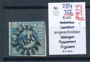 Bayern  Nr . 2 II   o  (ff923  ) siehe scan !