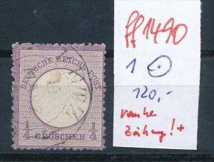 D.-Reich  Nr. 1    o    ( ff1490  ) siehe scan  !