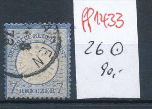 D.-Reich  Nr. 26    o    ( ff1433  ) siehe scan  !