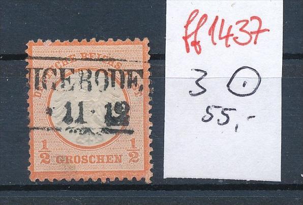 D.-Reich  Nr. 3   o    ( ff1437  ) siehe scan  !
