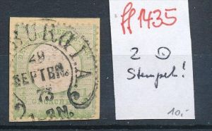 D.-Reich  Nr. 2 Stempel  !!   ( ff1435  ) siehe scan  !