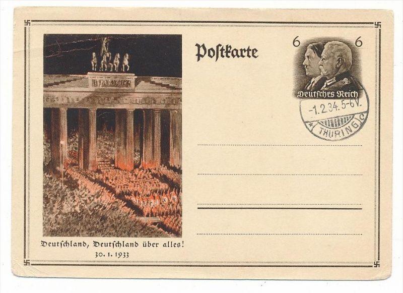 3.Reich Ganzsache     (bc6510  )  siehe scan !