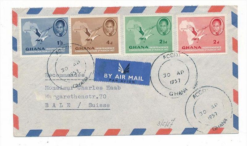 Ghana Luftpost....   (bc6440 )  siehe scan !