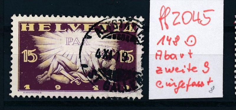 Schweiz  Nr.  148  PLF  o      (ff2045   ) siehe scan  !