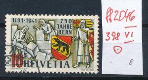Schweiz  Nr.  398 VI / PLF  o      (ff2046   ) siehe scan  !