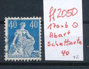 Schweiz  Nr.  170 xb    / PLF  o      (ff2050   ) siehe scan  !