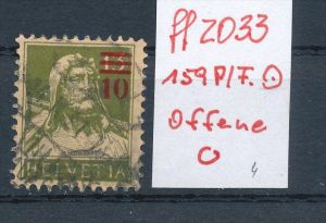 Schweiz  Nr. 159  PLF   o    (ff2033  ) siehe scan  !