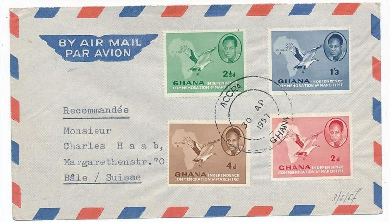 Ghana -Luftpost     (bc6548  ) siehe scan !