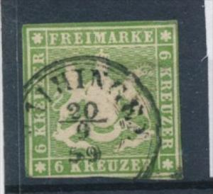 Würtemberg  Nr. 8   o    ( ff2152 )  siehe scan !