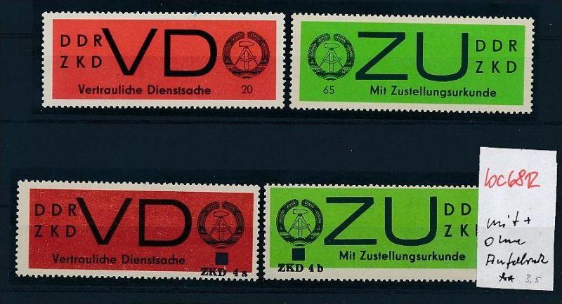 DDR Dienst ** - Lot   ( bc6812 ) siehe scan  !