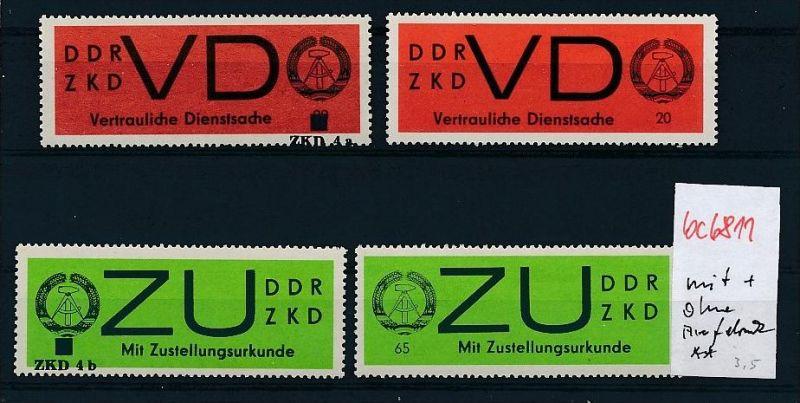 DDR Dienst/ZKD **   - Lot   ( bc6811 ) siehe scan  !