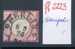 D.-Reich  schöner Stempel...    (ff2223 ) siehe scan  !