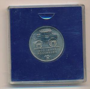 DDR 5,-Mark  -500 J.Postwesen -bankfrisch  (x1925 ) siehe scan !
