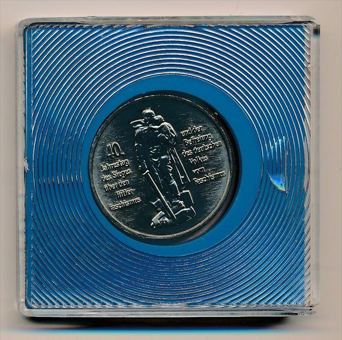 DDR      10,-Mark  -Treptow Ehrenmal 1985  -bankfrisch  (x1931 ) siehe scan !