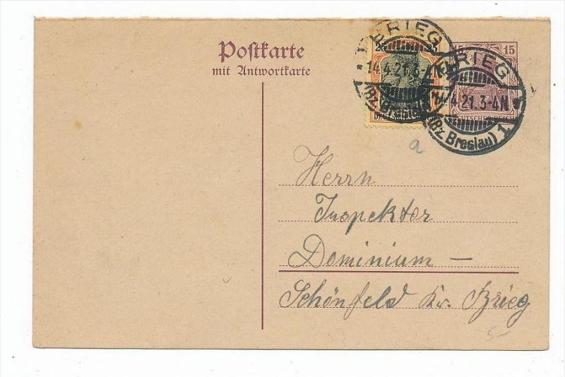 D.-Reich Karte  Germania (bc6844 )  siehe scan   !