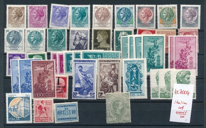 Italien Lot  diverse   ( bc7004 ) siehe scan  !