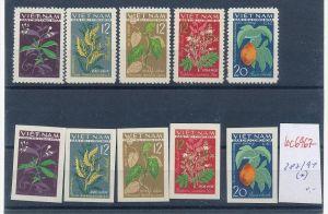 Vietnam  Nr. 287-91 A+B  (*)  ( bc6967 ) siehe scan  !