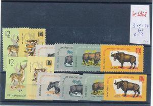 Vietnam  Nr. 319-24  A+B  (*)  ( bc6968 ) siehe scan  !