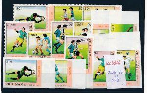 Vietnam  Nr. 2080-86  A+B  (*)  ( bc6966 ) siehe scan  !