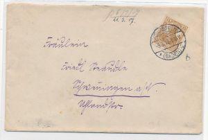D.-Reich Germania  101b EF  (bc7139  )siehe scan  !