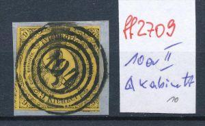 Thurn & Taxis  Nr. 10 a II  o   -bitte Zettel beachten  ( ff2709 ) siehe scan vergrößert  !
