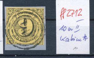 Thurn & Taxis  Nr. 10 a II  o   -bitte Zettel beachten  ( ff2712 ) siehe scan vergrößert  !