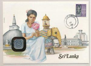 Sri Lanka -  Numisbrief   (zz7009  ) siehe scan !