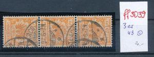 Deutsches Reich Krone Adler Nr. 3er 49   o    ( ff3039 ) siehe scan!