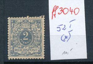 Deutsches Reich Krone Adler Nr. 52 I  *   ( ff3040 ) siehe scan!
