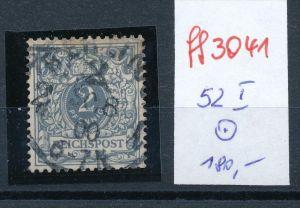 Deutsches Reich Krone Adler Nr. 52 I  o   ( ff3041 ) siehe scan!
